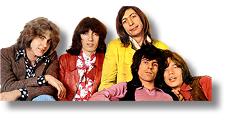 BRAVO Panorama-Poster The Rolling Stones